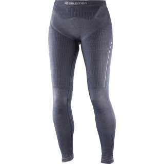 Salomon Primo Warm Tight Skiunterwäsche - Damen - Graphite