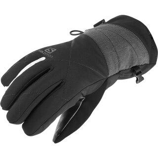 Salomon Icon GoreTex Handschuhe - Damen - Schwarz Grau
