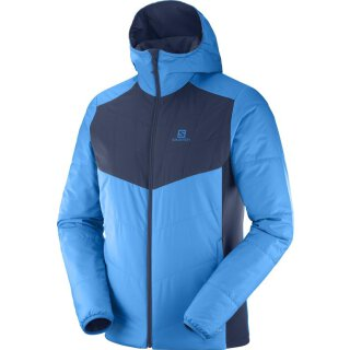 SALOMON DRIFTER MID HOODIE M Hawaiian Surf/Night Sky