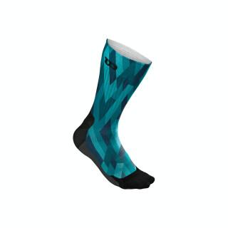 Wilson Colr Crew Sock Socken - Männer - Blau Camo Print