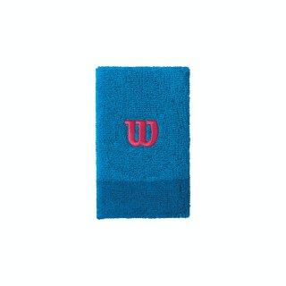 Wilson Extra Wide Schweißband Armband - Unisex - Blau