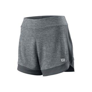 Wilson Condition 3.5 Short Tennis Hose - Damen - Dunkelgrau