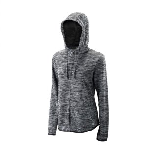 Wilson Training Hooded Jacket Kaputzenpullover - Damen - Schwarz