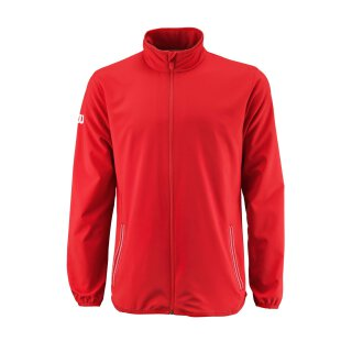 Wilson Team Jacke Jacket - Herren - Rot Weiß Trainingsanzug Woven