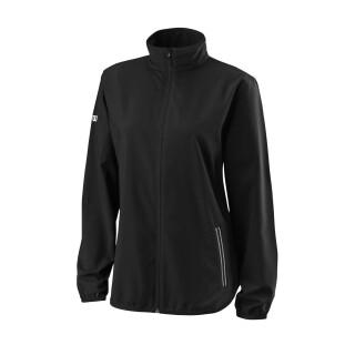 Wilson Team Trainingsanzug Jacke Woven Jacket - Damen - Schwarz Weiß