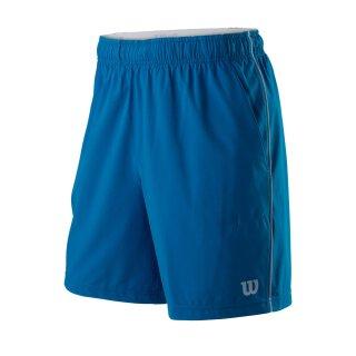 Wilson Competition 8 Short Tennis Hose - Herren - Blau Grau