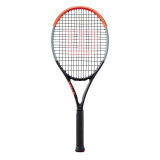 Wilson Clash 100 Tour (Pro) - Tennis Racket - 16x19 310g - Black/Grey/Red