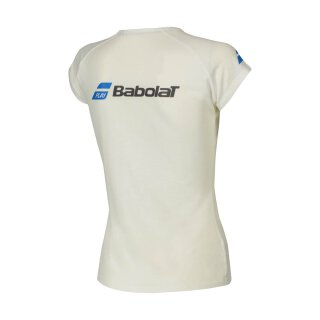 BABOLAT CORE TEE WOMEN White