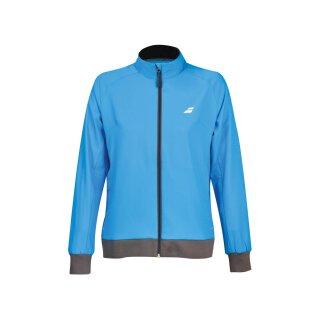 Babolat Core Club Jacket Trainingsjacke - Damen - Blau Grau