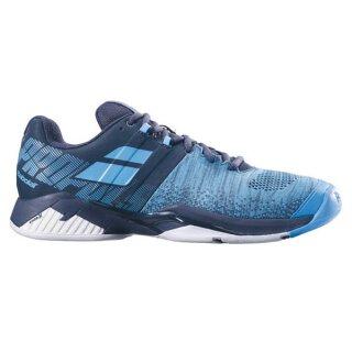Babolat Propulse Blast All Court Tennis Schuhe - Herren - Grau Blau