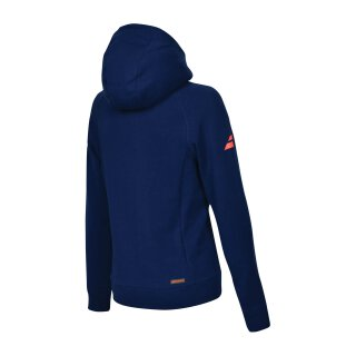 BABOLAT CORE HOOD SWEAT WOMEN Estate Blue