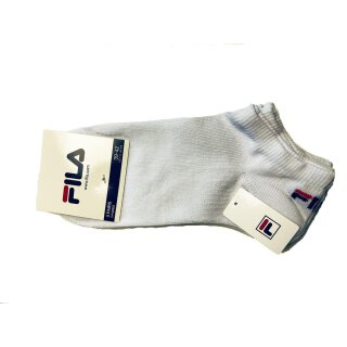 FILA INVISIBLE SOCKS UNISEX Weiss