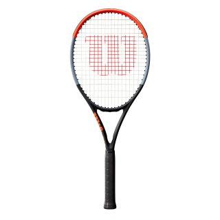 Wilson Clash 108 Tennisschläger - Racket 16x19 280g - Schwarz Grau Rot