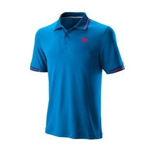 Wilson Star Tipped Polo Shirt - Herren - Blau