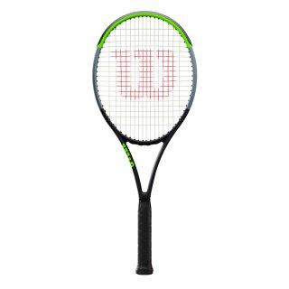 Wilson Blade 98S V7.0 Tennisschläger - Racket 18x16 295g - Schwarz Grau Grün