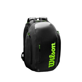 WILSON SUPER TOUR BACKPACK Charcoal/Green