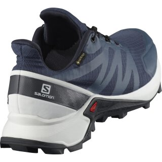 SALOMON SUPERCROSS GTX Blau/Weiß/Grau