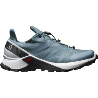 SALOMON SUPERCROSS GTX W Bluestone/White/India Ink
