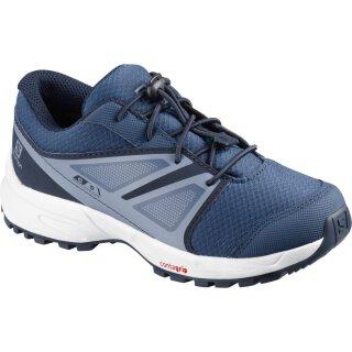 Salomon Sense Kids Trail Schuhe - Kinder - Blau Grau