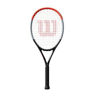 Wilson Clash Jr. 26 Tennisschläger - Junior 245g - Schwarz Grau Rot