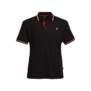 Fila Polo Button Piro Shirt - Herren - Schwarz