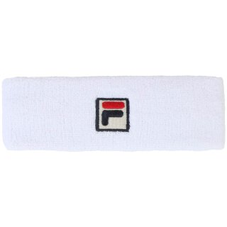 Fila Flexby Stirnband - Unisex - Weiß