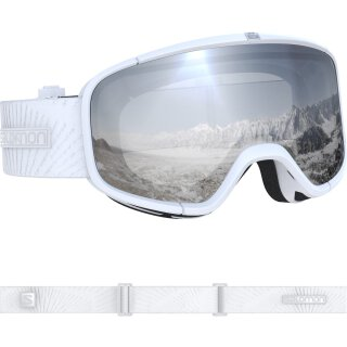 Salomon Four Seven White Skibrille - Unisex - Weiß