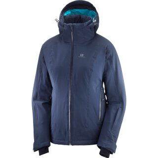 Salomon Brilliant Jacket Skijacke - Damen - Night Sky