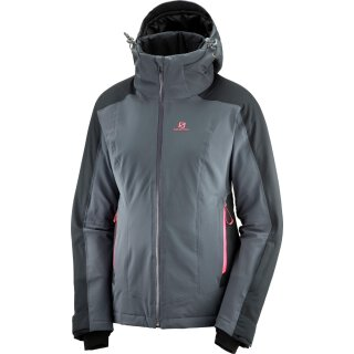 SALOMON BRILLIANT JKT W Grau/Schwarz