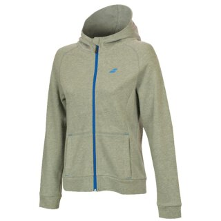 BABOLAT CORE HOOD SWEAT WOMEN High Rise Hthr