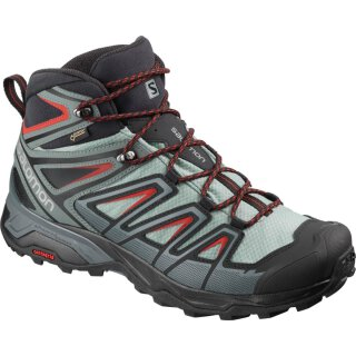 SALOMON X ULTRA 3 MID GTX M Lead/Stormy Weather/Bossa Nova