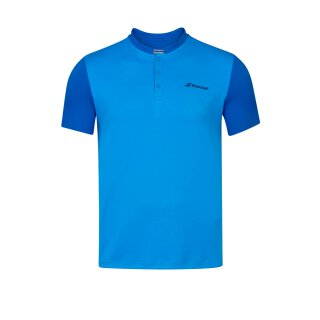 Babolat Play Polo Shirt - Jugend - Blau Kinder Tennis Jungs Boys