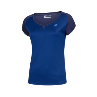 BABOLAT PLAY CAP SLEEVE TOP GIRL Dunkelblau