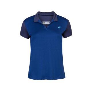 Babolat Play Polo Shirt - Jugend - Dunkelblau Tennis Kinder Girls Mädchen