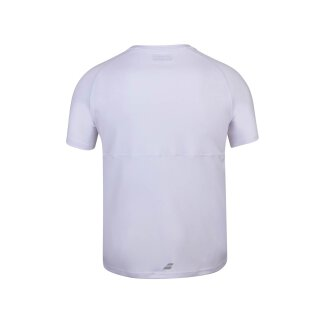 BABOLAT PLAY CREW NECK TEE MEN White