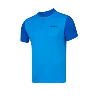 BABOLAT PLAY POLO MEN Blue Aster