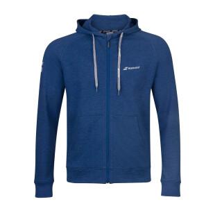 Babolat Exercise Hood Jacket - Jugend - Dunkelblau Tennis Kinder Trainingsjacke