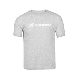 Babolat Exercise Babolat Tee Shirt - Jugend - Grau Tennis Kinder Jungs Boys
