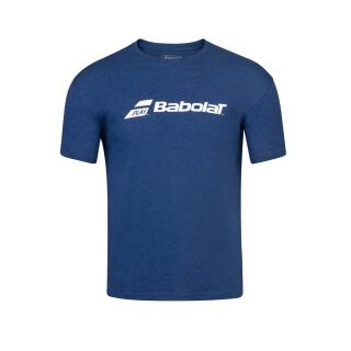 Babolat Exercise Babolat Tee Shirt - Jugend - Dunkelblau Kinder Tennis Jungs Boys