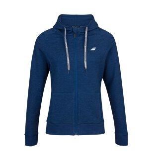 Babolat Exercise Hood Jacket - Jugend - Dunkelblau Kinder Tennis Mädchen Girls Trainingsjacke