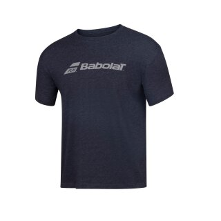BABOLAT EXERCISE BABOLAT TEE MEN Schwarz