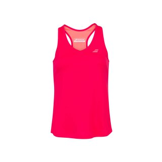 Babolat Play Tank Top - Jugend - Rot Rosa Kinder Tennis Mädchen Girls