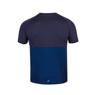 BABOLAT PLAY CREW NECK TEE MEN Dunkelblau