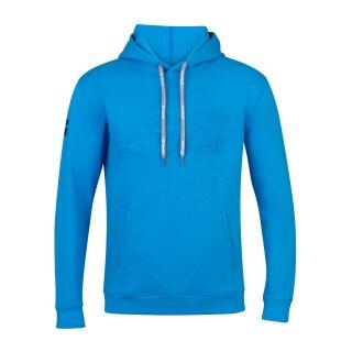 Babolat Exercise Hood Sweat Hoody - Herren - Blau