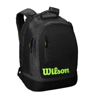 Wilson Team Backpack - Tennis Backpack-  Black/Green