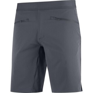 SALOMON WAYFARER PULL ON SHORT M Dunkelgrau