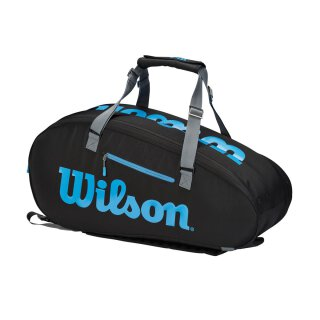 WILSON ULTRA 9PK Black/Blue/Silver