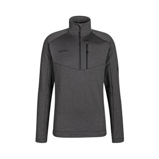 MAMMUT NAIR ML HALF ZIP PULL MEN Black Melange