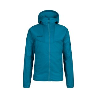 MAMMUT RIME LIGHT IN FLEX HOODED JACKET MEN Sapphire