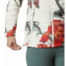 COLUMBIA POWDER LIGHT HOODED JACKET Chalk Botanica Print